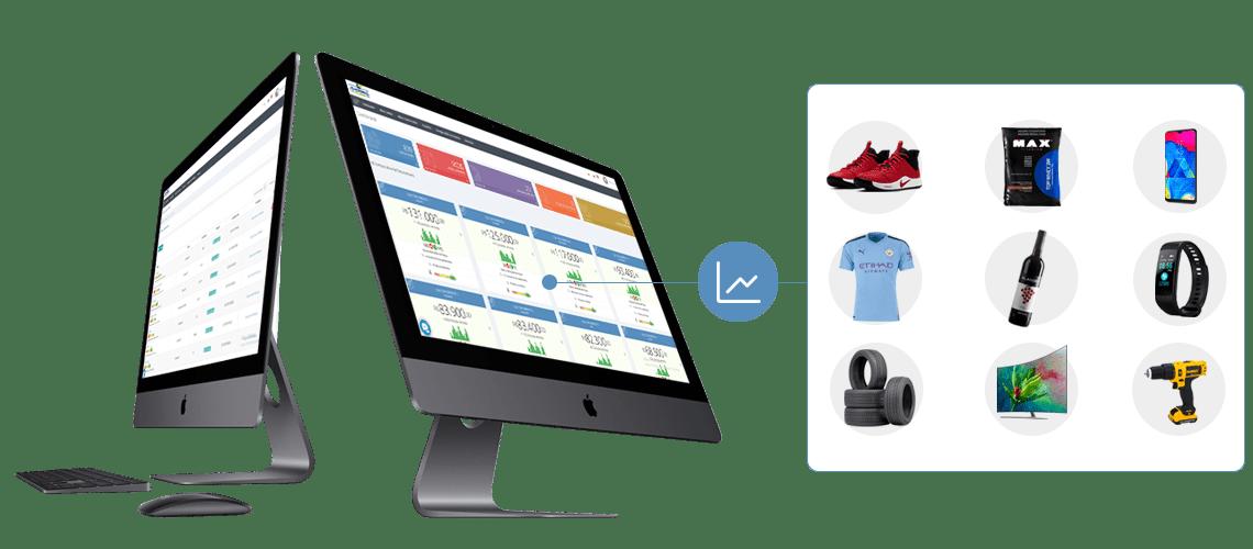 Monitoramento de Concorrentes - Shopping de Preços